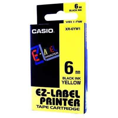 CASIO 標籤機專用色帶-6mm【6色任選】