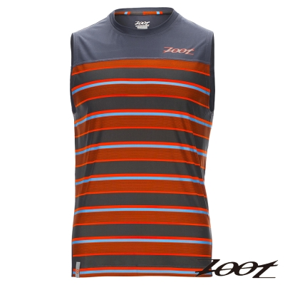 ZOOT 頂級極致型輕羽級吸排運動背心(男) Z1604027(城市橘)