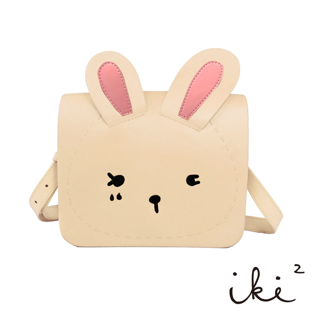 iki2童包-咕妮兔斜背包-膚