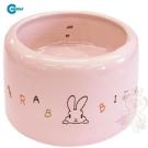 日本Marukan 兔用 加高陶瓷食碗【ML-106】
