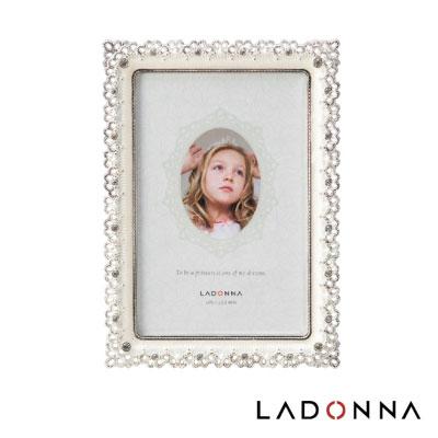 日本 LADONNA Bridal 幸福花嫁 絢麗鑽飾4×6相框