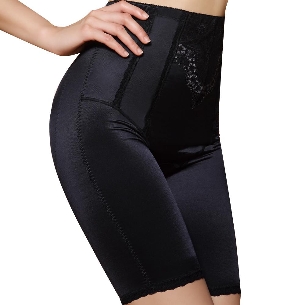 思薇爾 綺麗系列中機能高腰長筒束褲-黑色