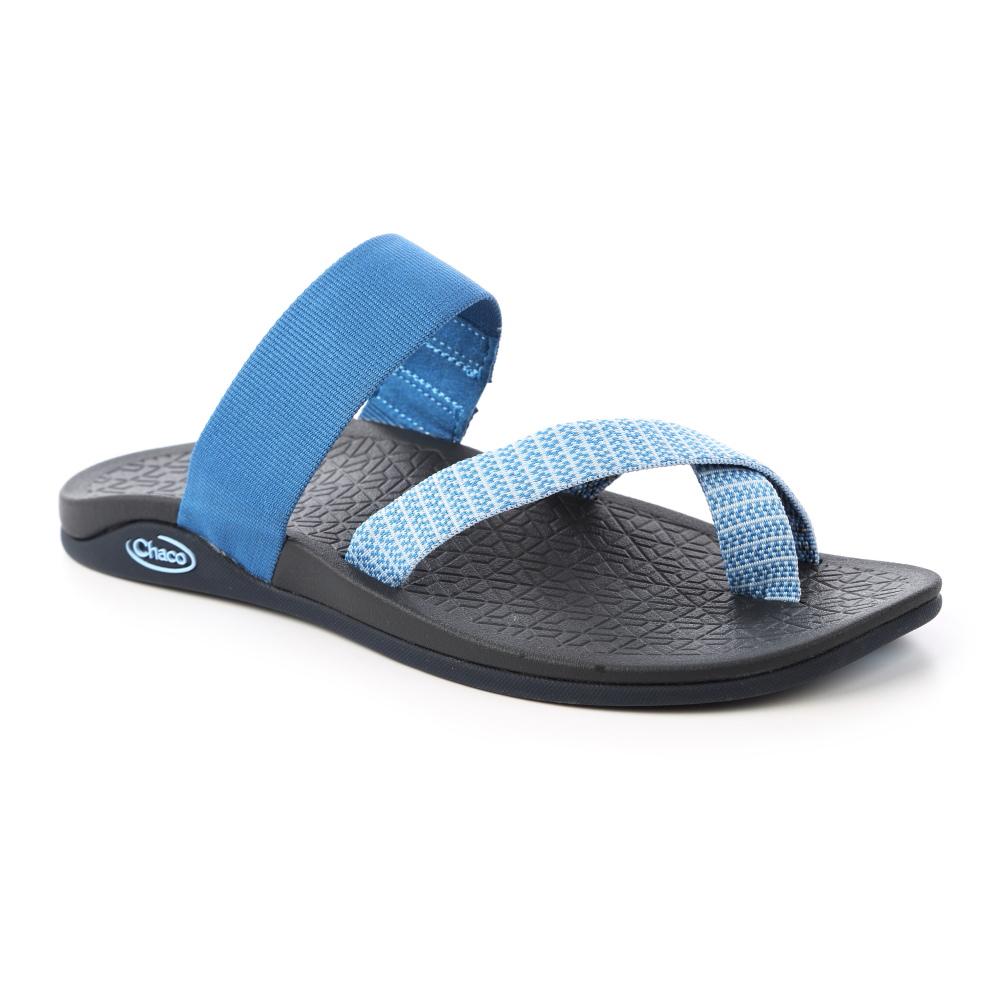 美國Chaco。女 夾腳拖鞋CH-TCW01HD55 (謎漾藍鐘) @ Y!購物