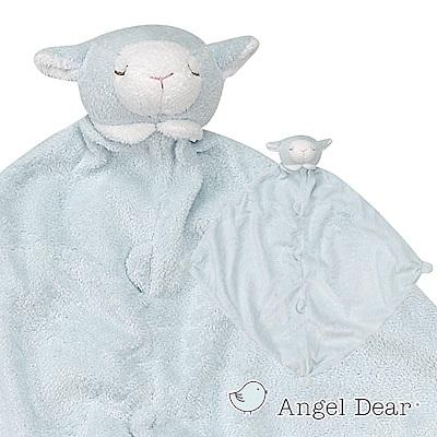 美國 Angel Dear 動物嬰兒安撫巾 (藍色小羊)
