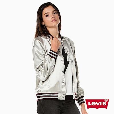 女裝 棒球外套 雙面穿 立體刺繡 - Levis