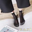 Wazi-小蕾絲邊防滑透膚短絲襪 (1組三入)