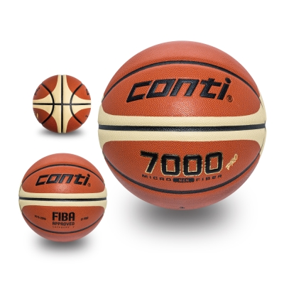 conti 超細纖維PU16片專利貼皮籃球(7號球)