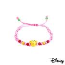 Disney迪士尼金飾 雀躍美妮黃金編織手鍊之一
