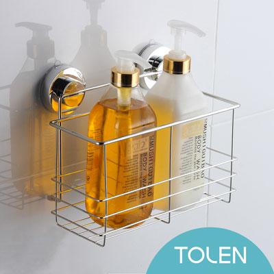 Tolen陶然居-強力無痕吸盤-Hyco吸哈扣-高瓶置物架