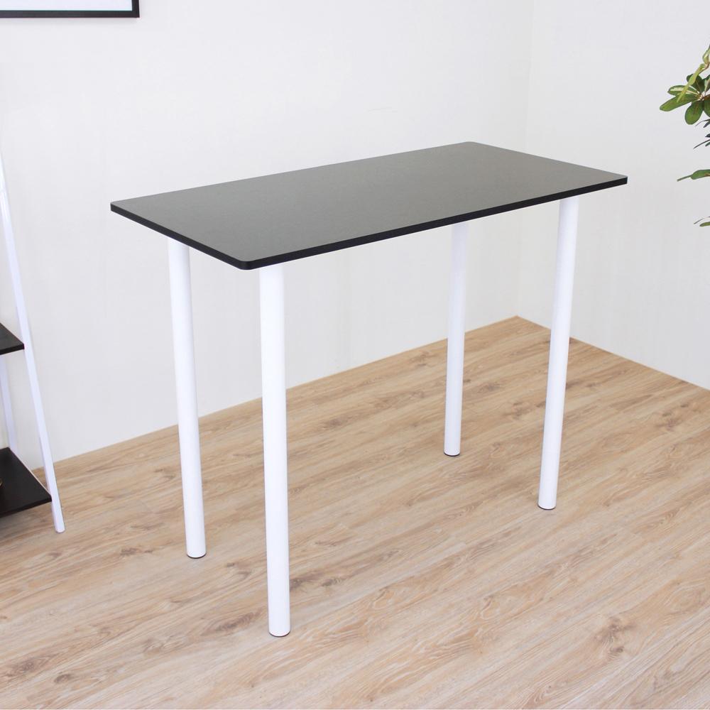 頂堅 [PVC防潮材質]高腳桌/吧台桌/洽談桌/餐桌-寬120x高98cm-二色