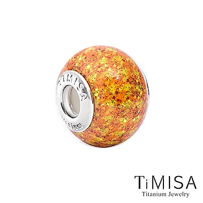 TiMISA 閃耀(11mm)純鈦琉璃 墜飾串珠