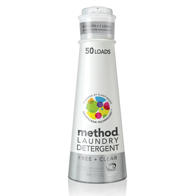 Method 美則八倍濃縮智慧環保洗衣精- 潔淨600ml
