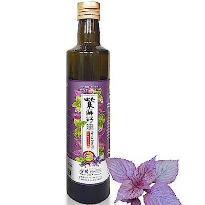 金椿紫蘇籽油_大瓶6入組(500ml/瓶)