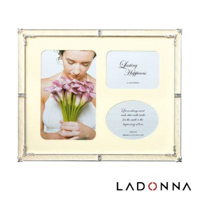 日本 LADONNA Bridal 幸福花嫁 百合情緣8x10相框白