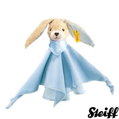 STEIFF德國金耳釦泰迪熊 - Hoppi Rabbit 安撫巾 (28cm)