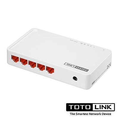 TOTOLINK 5 埠 Giga 極速乙太網路交換器 S505G