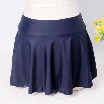 泳裙女生單泳裙遮肚加長短裙-單泳裙-Biki比基尼