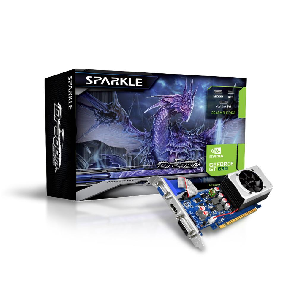 斯博科 SPARKLE GT630 2G D3 LP 顯示卡