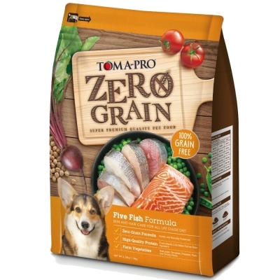 優格TOMA-PRO 零穀食譜 五種魚晶亮護毛配方犬糧 15磅