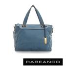 RABEANCO OL 時尚粉領系列菱形包(中) - 天藍