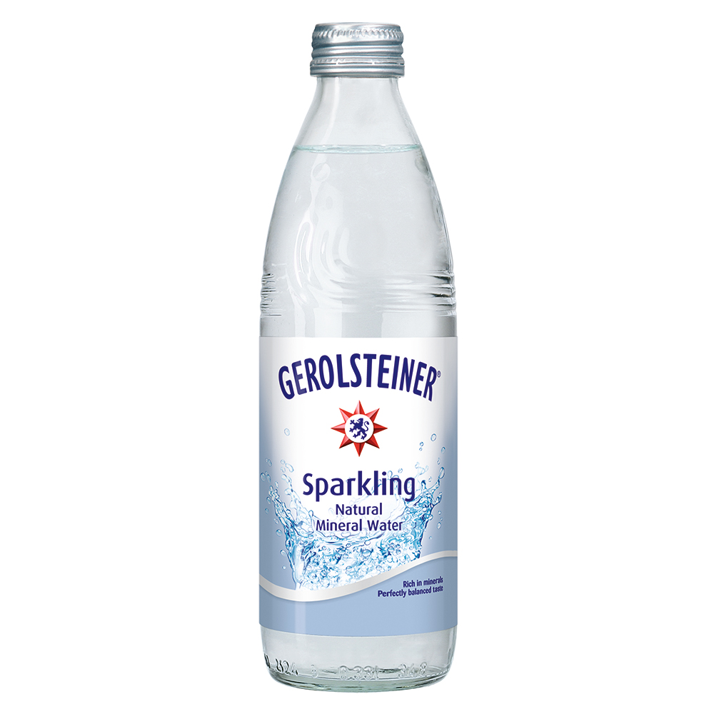 GEROLSTEINER 天然氣泡礦泉水(330mlx24入)