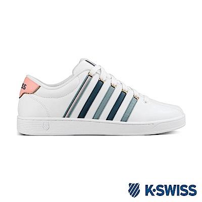 K-Swiss Court Pro II CMF 休閒運動鞋-男-白/藍/灰