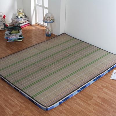《星辰》涼草冬夏兩用折疊床墊-雙人