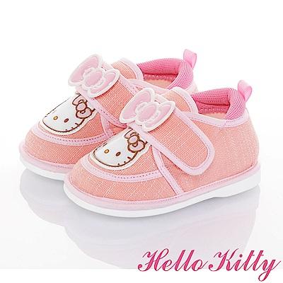 HelloKitty 輕量減壓寶寶學步嗶嗶童鞋-粉