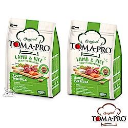 TOMA PRO 優格 毛髮柔亮 羊肉+米 小顆粒 成犬 飼料 7公斤 2包