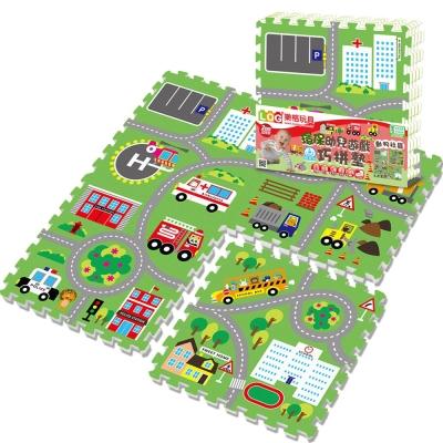 LOG樂格 環保遊戲巧拼地墊 –動物社區