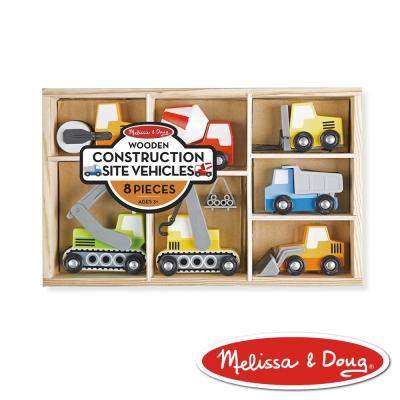 美國瑪莉莎 Melissa & Doug 交通工具 - 建築車輛