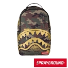 SPRAYGROUND DLX系列 Gold Shark Camo 黃金迷彩鯊魚後背包