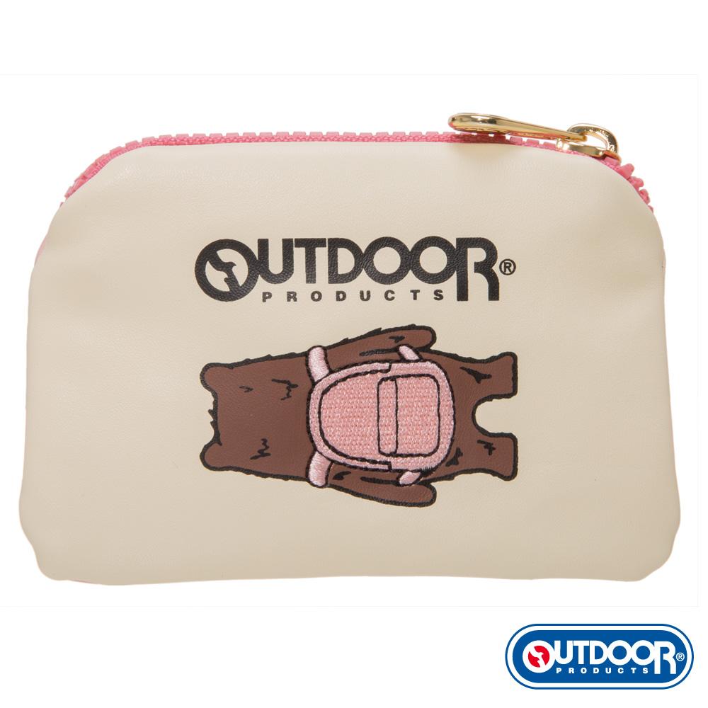 OUTDOOR-有BEAR而來系列-背影熊零錢包-粉 ODS162D101PK
