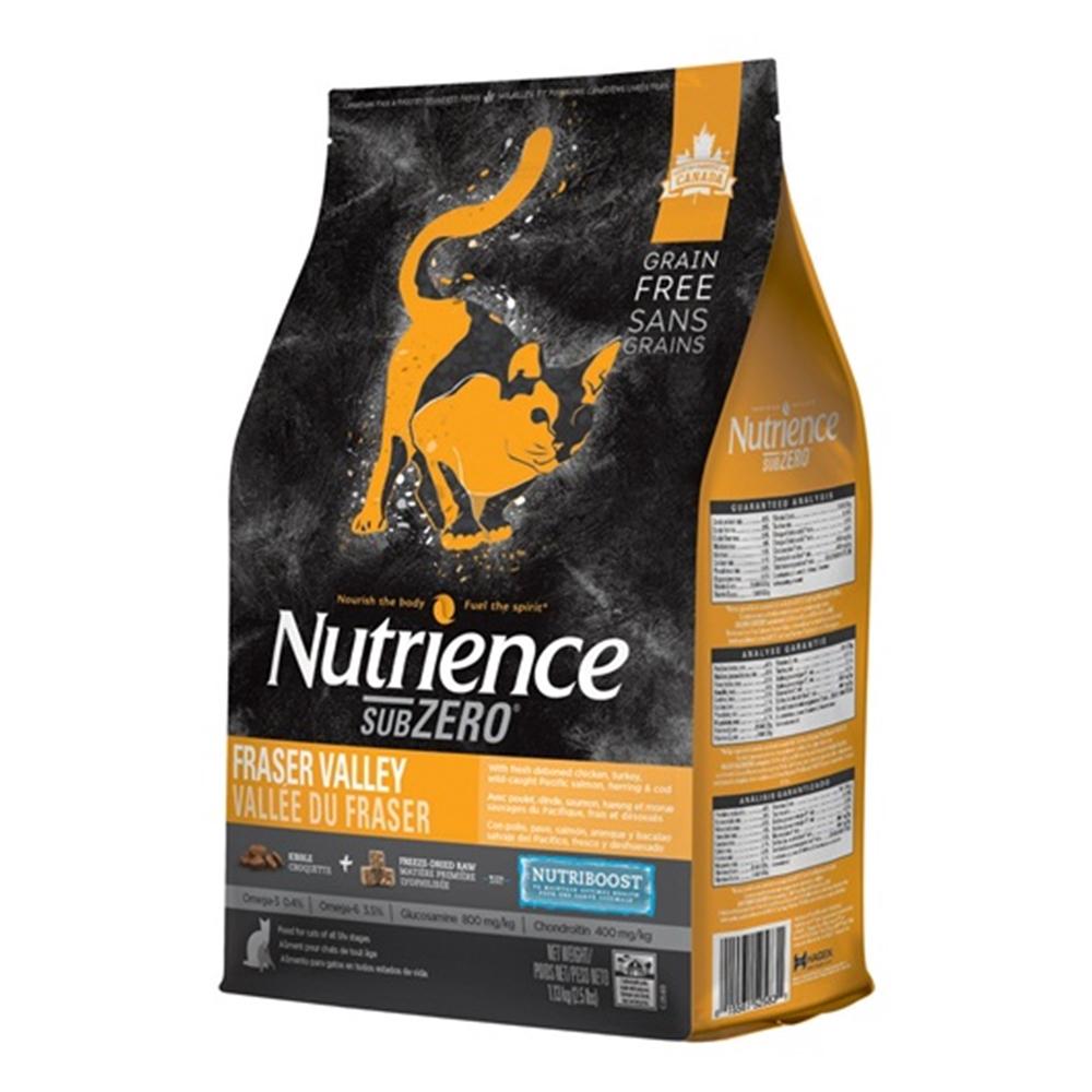 紐崔斯 頂級無穀凍乾《火雞肉+雞肉+鮭魚》貓糧5kg