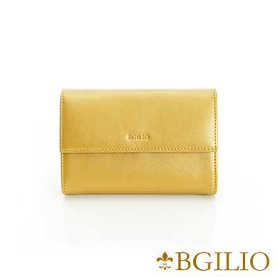 義大利BGilio-NAPPA軟牛皮金屬色系氣質中