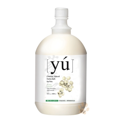 YU 東方森草寵物沐浴乳-薏仁柔潤配方 4000 ml  1 入