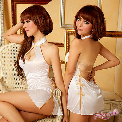 【Lorraine】絕色風華!性感三件式旗袍裝