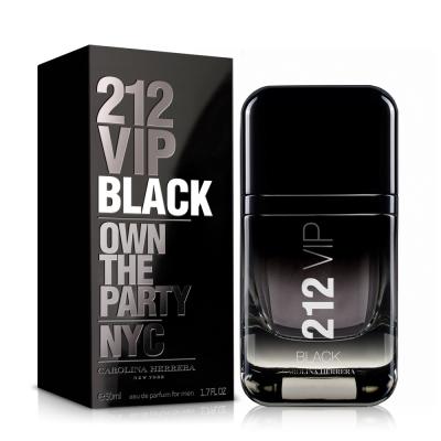 Carolina Herrera 212 VIP BLACK男性淡香精50ml