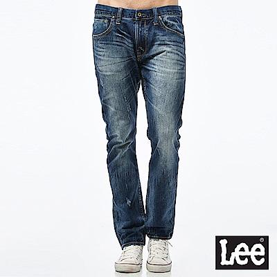 Lee 牛仔褲 721低腰合身小直筒牛仔褲-男款