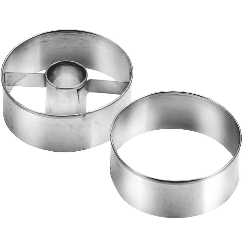 TESCOMA 夾心餅切模2件(圓圈4.5cm)