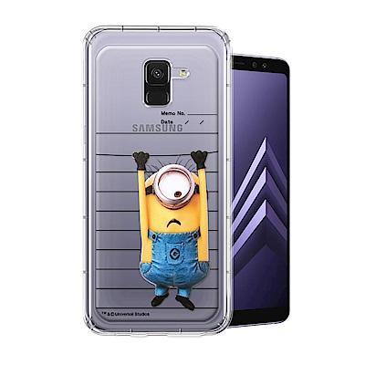 Minions小小兵 Samsung Galaxy A8+(2018)空壓手機殼...