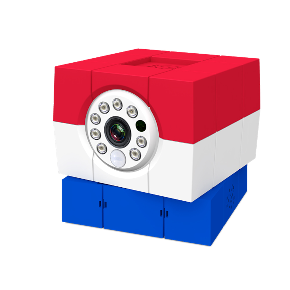 Amaryllo愛瑪麗歐 無線遠端智慧遙控攝影機 iCam HD荷蘭旗