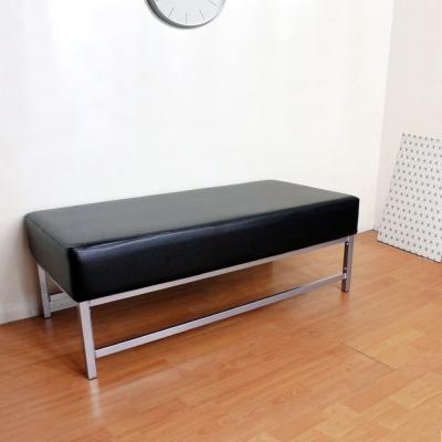 Dr.DIY 厚型15公分泡棉椅座(皮面)休閒椅/沙發椅(黑色)-DIY