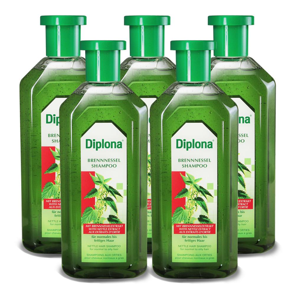 德國Diplona植萃大蕁麻養護洗髮精500mlx5入組(不含矽靈)