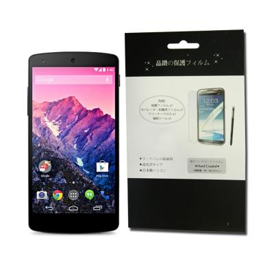 LG GOOGLE NEXUS 5(D821)專用亮面防指紋螢幕保護貼-5吋