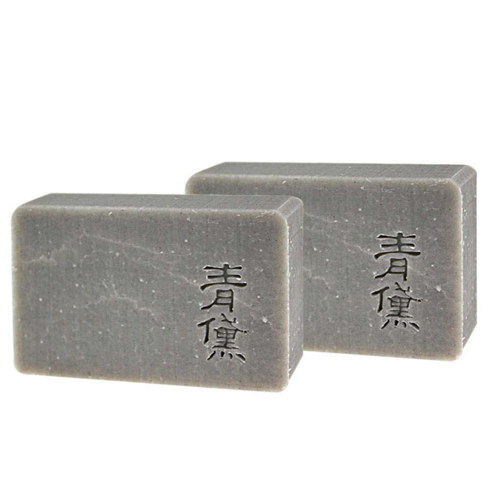 文山手作皂-青黛護理皂(沐浴用)(100g)X2入組