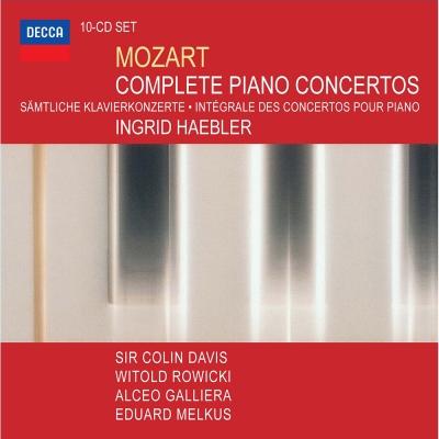 莫札特:鋼琴協奏曲全集( 10 CD)