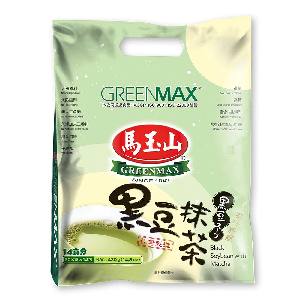 馬玉山 黑豆抹茶(30gx14入)