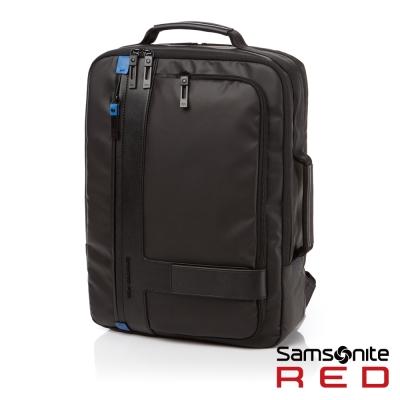 Samsonite-RED-ATOR-時尚休閒後背包S-時尚黑