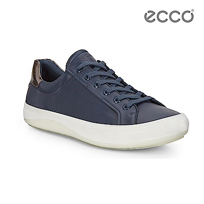 ECCO KINHIN 清新系列休閒鞋-藍